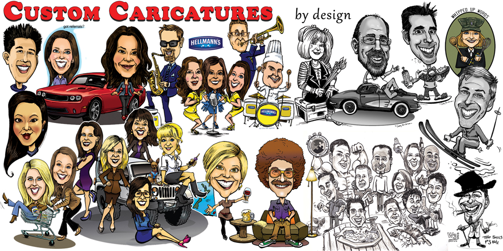 SIteSamples-CustomCaricatures