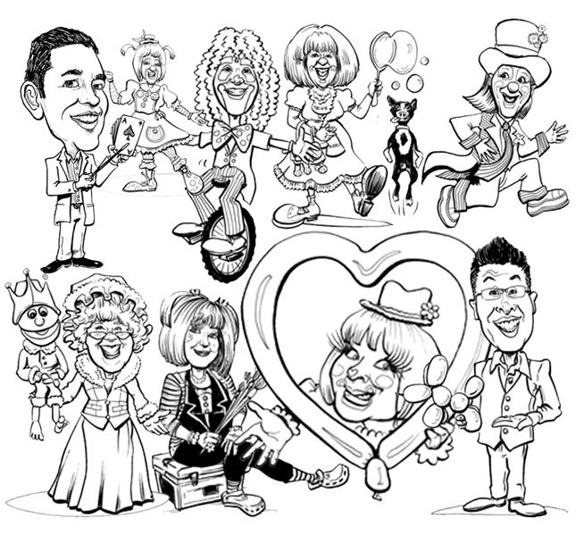 SIteSamples-BW-Caricatures