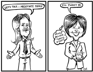 Caricatures, Political Caricature, Pen & Ink, Cartooning, Celebrity Caricature, Digital Caricature, BC Politics, BCTF, Teachers, Education