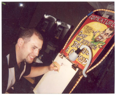party caricatures, party art, event sketches,