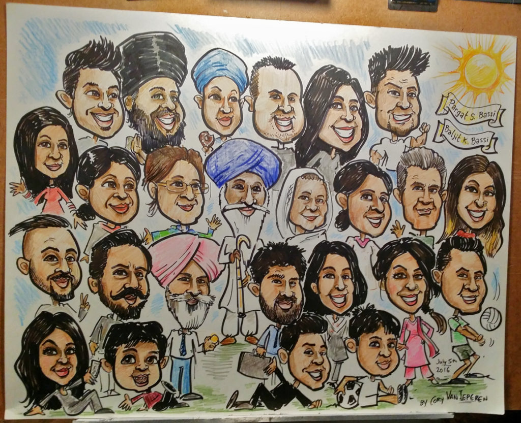 Caricature-Group-Punjabi-Color-WEB