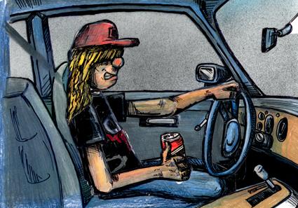 farmer-in-car